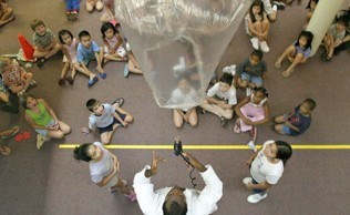 Special event warm air balloon